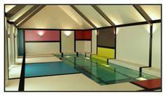 Mondrian Pool 3D Visual Cam04