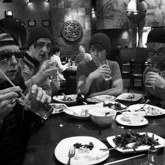 Look at how attractive these boys are ;) definitely the one in the sun glasses