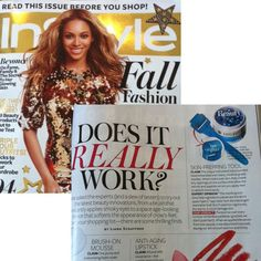 AMP-MD Roller in the press again! Does it really work? Yes!  In Style Magazine 2011