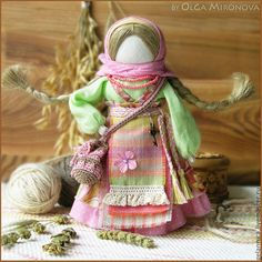 Купить Успешница-Удачница - успешница, успех, удача, оберег, обережная кукла, тряпичная кукла