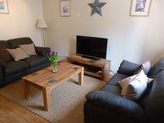 Comfy sitting room in Ash Cottage in Beer, Devon