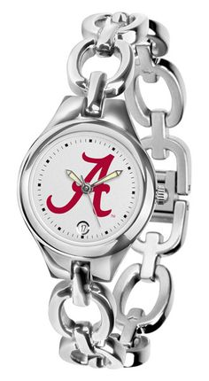 Ladies' Eclipse Watch by Suntime The Eclipse Ladies watch from Suntime combines the versatility of a jewelry inspired bracelet and the functionality of a collegiate timepiece. The fashionable Eclipse