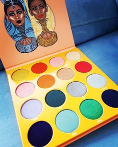 I don't think there's ever been a Juvia's place eyeshadow palette we haven't loved! The Magic Palette is beautiful has so many shades and the pigmentation is always incredible. So many creative makeup looks you can do with this so much inspiration!