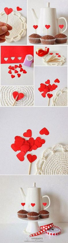 Make your heart feel all warm and fuzzy with these simple and easy Valentine Yarn Hearts. It's the perfect craft for the whole family!