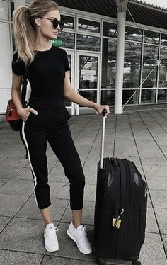 100 Trending winter and spring looks for this season! Check out more at  www. Airport Travel ... 590f6d684