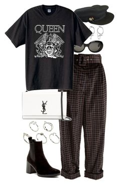 """""""Untitled #11135"""" by nikka-phillips ❤ liked on Polyvore featuring Isa Arfen, Acne Studios, Chanel, Eddie Borgo, Yves Saint Laurent, ASOS and Topshop"""