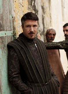 Petyr 'Littlefinger' Baelish played by Aidan Gillen in Game of Thrones (2011 photo by Nick Briggs)