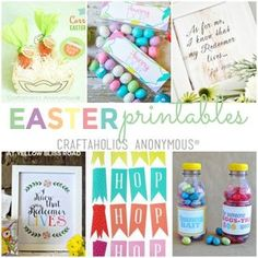 Free Easter Printables Round Up
