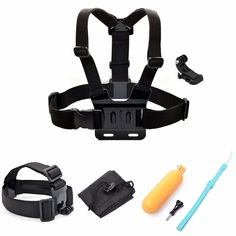 >> Click to Buy << SHOOT Chest Strap Headband Floaty Bobber Mount for Gopro Hero 5 4 4S 3 3+2 for Xiaomi Yi SJCAMsj4000 SJ5000 #Affiliate