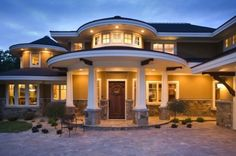 love this front entrance!