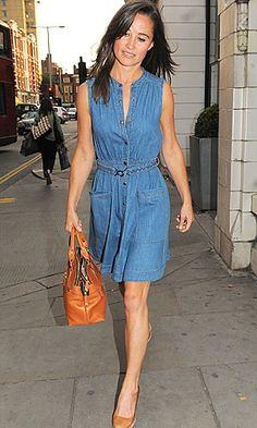 Pippa Middleton Denim Dress