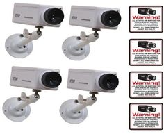 4 VAS #4606 Indoor Dummy Camera Blinking LED W (4) #140 Decal by VAS First Response. $75.25. Product Description: #4606 Now you can deter robbery, theft, and vandalism without the high cost of a real outdoor security camera. When placed outside your home or business, even the most sophisticated criminals will think the premises is guarded by a high-tech surveillance system and go in search of an easier target. In fact, this is an actual surveillance camera in outdoor ...