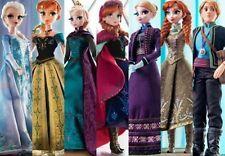 "DISNEY STORE FROZEN 17"" Limited Edition ANNA ELSA KRISTOFF - ALL 7 Dolls Set NEW"