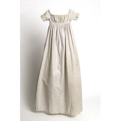 Baby's long gown, England 1810-1820
