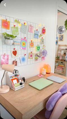 Room Design Bedroom, Room Ideas Bedroom, Bedroom Decor, Bedroom Inspo, Pastel Room Decor, Indie Room Decor, Study Room Decor, Minimalist Room, Cozy Room