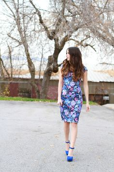 Very easy sheath dress tutorial (this one with contrast back!) | Cotton + Curls