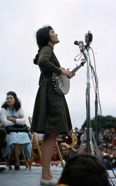 Hedy West, Newport Folk Festival 1964