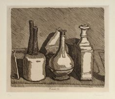 Natura Morta. Still Life - Bottles and Vases.  1933