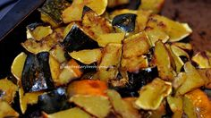 Roasted Acorn Squash (gluten free, dairy free)