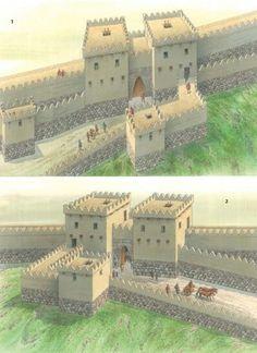 The King's and Lion Gates of the upper city of Hattusha, thirteenth century BC,  Hittite empire (Osprey Publishing)