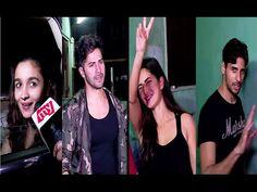 Videos - YouTubeWATCH #Aliabhatt, #Varundhawan, #Katrinakaif & #Sidharthmalhotra spotted at Ganesh Acharya's Dance Academy. See the full video at : https://youtu.be/PMIvEx_s1ew #bollywoodnewsvilla