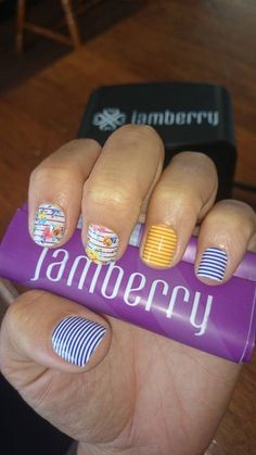 Navy Skinny Jamberry