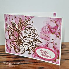 Inkstability: Expressions In Ink Ephemera Pretty Cards, Cute Cards, Bday Cards, Up Book, Embossed Cards, Stamping Up Cards, Ink Stamps, Paper Pumpkin, Folded Cards