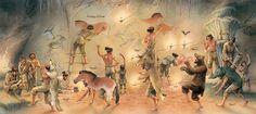 Cave paintings - Q-files Encyclopedia