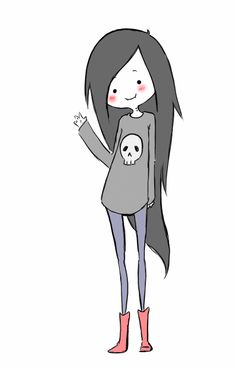 Adventure Time marceline the vampire queen Adventure Time Anime, Adventure Time Marceline, Chibi, Cartoon Network, Sketch Style, Adveture Time, Disney Stich, Gif Disney, Finn The Human