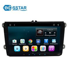 9 inch android car dvd stereo player with gps navigation system for VW universal