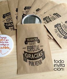 best 25 tarjetas para graduacion ideas on Wedding Favors, Wedding Gifts, Original Gifts, Ideas Para Fiestas, Party Time, 50 Party, Diy And Crafts, Packaging, Baby Shower