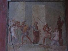 Pompeii Fresco Painting