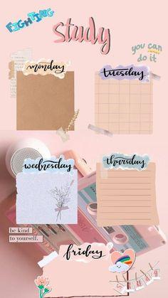 Kumpulan template jadwal pelajaran yang cantik & lucu-lucu —a thread Study Schedule Template, Timetable Template, Schedule Design, Weekly Planner Template, Notes Template, Printable Planner, Paper Background Design, School Schedule, Class Schedule