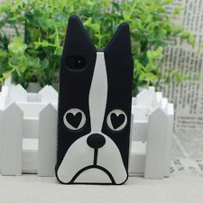 A Jazzie iPhone cover!!2013 Marc By Marc Jacobs Animal Dog Silicon Apple iPHONE 4 4S CASE COVER