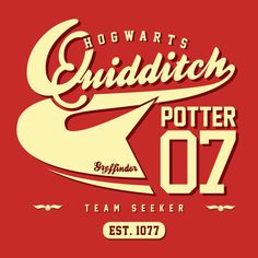 Quidditch Potter Tee
