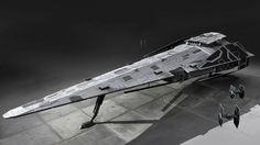 Imperial Raider Corvette
