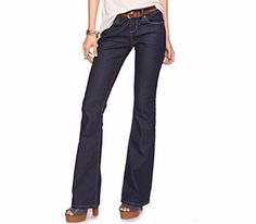 For an Hourglass Figure: Office Appropriate Style:  Classic Bootcut Jean To buy: $10.50, forever21.