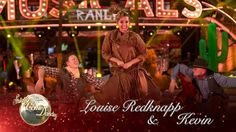 Louise Redknapp & Kevin Quickstep to 'The Deadwood Stage' from Calamity ...