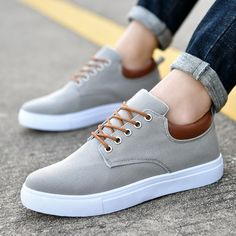 reputable site 3edaa 4b61f Men s Flats Sports Shoes Casual Breathable Low Top Sneakers Comfy Lace Up   fashion  clothing