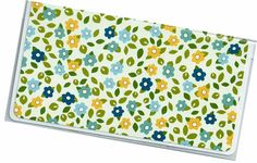 Checkbook Cover  Sisters Floral duplicate by rabbitholeonline, $6.25