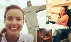 Rio Olympics presenter Charlie Webster reveals she 'spoke with death'