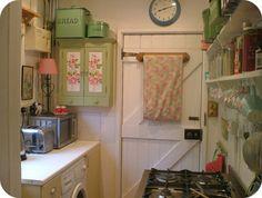 1940s kitchen--sort of.