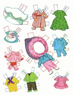 Liddle Kiddles Paper Dolls
