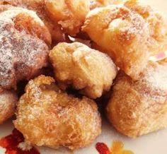 Sonhos de Natal (Receita do Chefe Silva) Portuguese Desserts, Portuguese Recipes, Portuguese Food, Bread Cake, Lidl, Cake Cookies, Baked Goods, Cake Recipes, Sweet Tooth