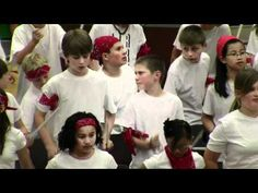 """White Bluffs The Big Shoe 2011 5th Grade - YouTube - """"chair drumming"""" routine"""