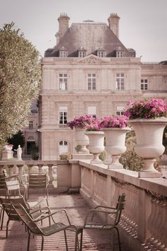 Jardin du Luxembourg, Paris by Georgianna Lane