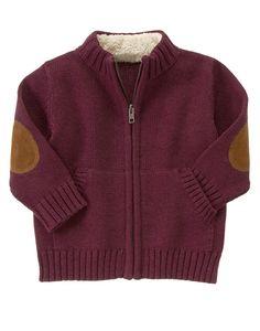 Marled Fleece Collar Pullover at Gymboree (Gymboree 3m-5T)