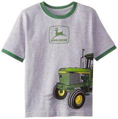 John Deere Little Boys' Husky Short Sleeve Tractor Graphic Tee Outdoor Brands, Outdoor Gear, John Deere Kids, Brand Expert, John Deere Equipment, Kids Hats, Boy Shorts, Little Boys, Tractors