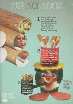 Fun fag facts from Scarfolk Council. Loving the 'sci-fi voice modulator'. Vintage Ads, Vintage Posters, Funny Vintage, Cute Stickers, Decoration, Growing Up, Hilarious, Funny Ads, Funny Memes