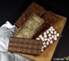 tablettes chocolat maison amandes sucre petillant chamallows  Calendrier de l'Avent des cadeaux gourmands 9 déc – DIY Tablettes de chocolat maison comme les Mast brothers